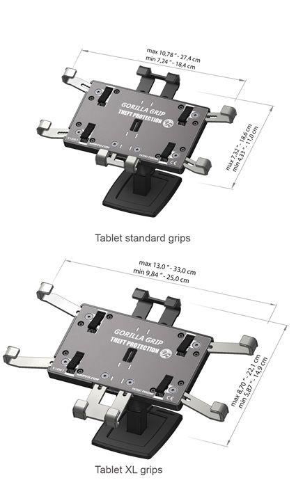 Gripzo standaard tablet grip