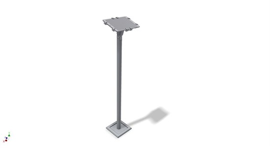 "12"" - 13"" Tablet vloer stand WIT"